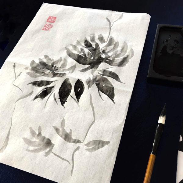 taller pintura SUMI-E