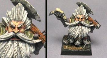 White Dwarf - enano blanco Warhammer_by ruth2m