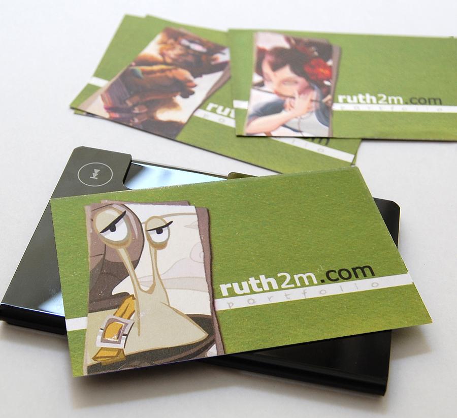 MOO, unas tarjetas personales y muy originales - ruth2m.com