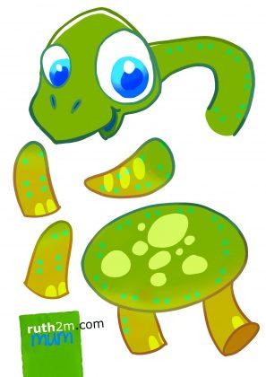 ruth2m IMPRIMIBLE GRATIS COSERbrontosaurio