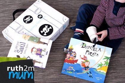 Daniela Pirata (Boolino Friends) y caja manualidades - ruth2m PEQUElecturas
