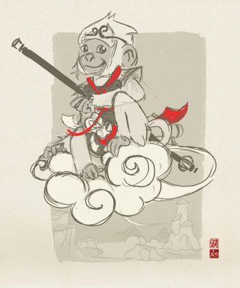 LeyendasCIPANGO_mukashiGOKU_sketch