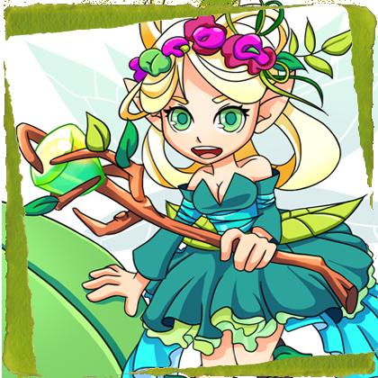 character design BattleOdyssey ___ FAIRY elements