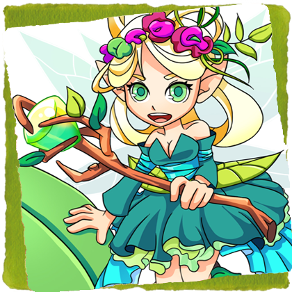 character design BattleOdyssey ___ FAIRY elements